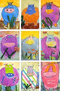 Creative Art Projects for Busy Teachers Elementary Art Rooms, Art Lessons Elementary, Art Beauté, First Grade Art, School Art Projects, Kindergarten Art, Art Lesson Plans, Art Classroom, Art Plastique