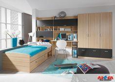 Jugendzimmer FELIPE   Modernes Jugendzimmer Bestehend Aus Einem  Dreh Kombischrank 3 Türig Mit Drei · RollerChildren