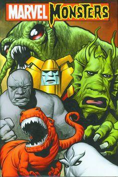 Marvel Monsters - Eric Powell