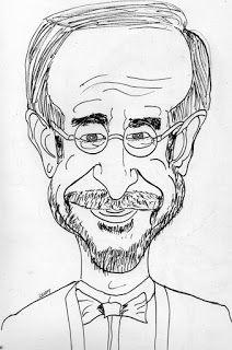 CARICATURAS DELBOY: STEVEN SPIELBERG