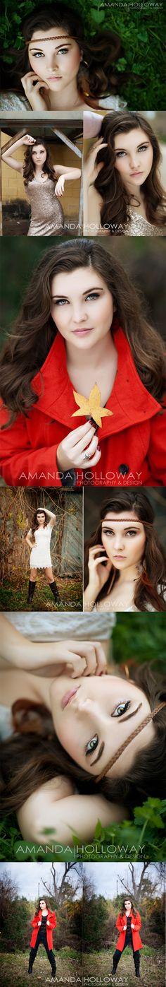 Senior Photo Ideas for Girls | Senior Picture Poses | Amanda Holloway photography
