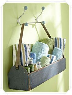 idee originali per portasalviette - porta asciugamani