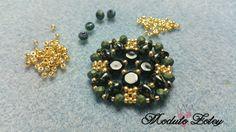 Tutorial modulo Zoley - Zoliduo, honeycomb, rocaille, cipollotti