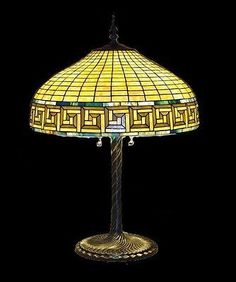 Tiffany style Stained glass Table Lamp HA4001