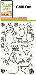 Chill Out TAWS, The Alley Way Stamps, Clear Stamps, handmade cards