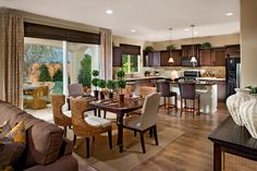Our two story Jadestone plan features this spacious kitchen at The Gallery in Clovis