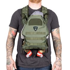 fbe7775a0 Tactical Baby Gear Tactical Baby Carrier. Military Style baby carrier for  men and dads.