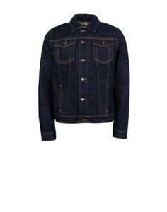 Denim jacket with detachable inner gilet in slub loop stitch. Regular fit.