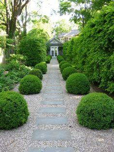 Gartengestaltung mit Kies gartenkunst