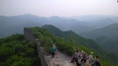 Huanghuacheng is one of the few sections of the Great Wall which are linked by mountains and rivers in Beijing. #Greatwall #Trekking
