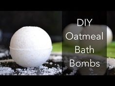 Easy Homemade Bath Bombs, DIY Oatmeal Bath Bombs - Naturally Handcrafted