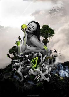 EVE by Pramono Hadi Sigit, via Behance