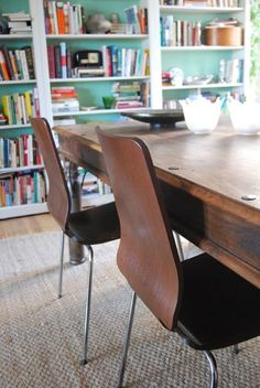 House Tour: Kelly and Mike's Layered Collage - Dining Room