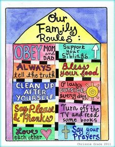 Family Rules by mixedmediamama on Etsy Family Rules Sign, Family Quotes, Family Values, Family Matters, Chores For Kids, House Rules, Kids And Parenting, Parenting Tips, Thoughts
