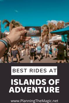 Best Rides at Islands of Adventure - Planning The Magic Disney Vacation Planning, Disney World Planning, Disney Vacations, Walt Disney World, Family Vacations, Cruise Vacation, Disney Parks, Orlando Theme Parks, Orlando Resorts