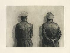 "薛 若哲 Xue Ruozhe 10x15cm x 15, etching, Boxed set 在""How to be successful in life"