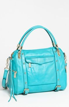 Rebecca Minkoff 'Cupid' Satchel, Medium available at #Nordstrom OMG I want this is blue and brown. Why can't I be rich