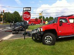 Four Car Accident on Kozloski Road