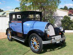 1922 Franklin 10B Sedan.