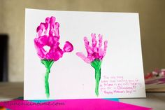 3 Handprint Gift Ideas for Mother's Day – Video