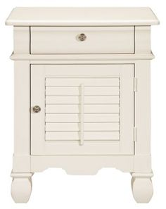 Accent And Occasional Furniture   Plantation Cove White End Table     $229  | Plantation Cove Furniture | Pinterest | Cove F.C., City Furniture And  Living ...