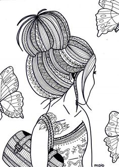 Printable Hair Coloring Pages. 10 Crazy Hair Coloring Pages Page 5 Of 12 Free Printable hair coloring pages  Cartoon
