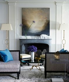 Thibault Jeanson / Nate Berkus {eclectic living room} by recent settlers, via Flickr