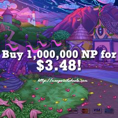 Do you hate spending hours trying to earn your neopoints? Well I've got a solution for you! NeopointsDeals is a website where you can make your dreams come true in a matter of a few clicks. We sell neopoints, neopets items, neopets accounts, neocash items, unconverted neopets, and more! Visit our shop today, and experience the luxurious neopian lifestyle today!  http://neopointsdeals.com/neopets/buy-neopoints/