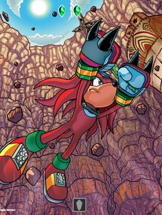 Sonic The Hedgehog, Hedgehog Art, Knuckles The Echidna, Sonic Adventure 2, Sonic Funny, Sonic Heroes, Sonic And Amy, Sonic Fan Characters, Sonic Fan Art