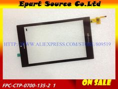 [Visit to Buy] A+  Tested 7inch LCD touch screen touch panel digitizer glass sensor replacement FPC-CTP-0700-135-2 #Advertisement