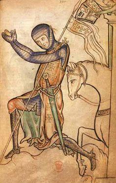 Praying Crusader