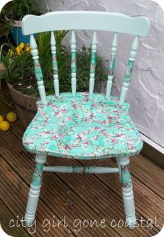 How To Decoupage A Wooden Chair   Ways to Refinish Wooden Furniture   Earth911.com