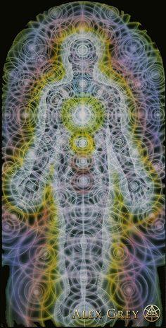 Body/Mind As A Vibratory Field Of Energy - Alex Grey