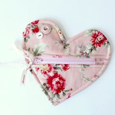 Valentine Heart Shaped Pouch