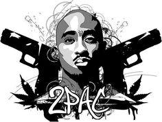 Illustration #2Pac #Tupac