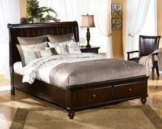 Queen Sleigh Headboard-master Bedroom-camdyn