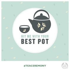 Green Tea - Hit me with your best pot Tea Ceremony, The Body Shop, Fuji, Tea Cups, Green, Kitchen Ideas, Wellness, Cup Of Tea