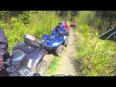 ATV Trail Riding , May 2015 in Pittsburg NH #lopstick #PittsburgNH