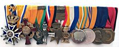 Onderscheidingen van brigadegeneraal Broertjes
