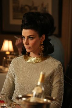 Pin for Later: The Bold Costumes on Mad Men Are the Reason Why We Already Miss the Show Season 6 Megan Draper