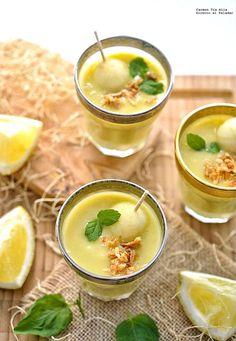 Lemon and apple Vichyssoise Vegetarian Soup, Vegan Soup, Vegetarian Recipes, Healthy Recipes, Chowder Recipes, Soup Recipes, Cooking Recipes, Yummy Veggie, Yummy Food