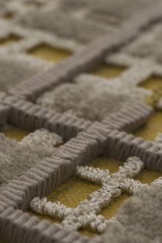 Andre Fu Collection - Tai Ping Carpets - interesting shot of a very detailed rug.