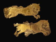 Archaeologists Find Traces of Destruction in Ancient Armenian Town  Two golden plaques found at Metsamor Armenia second millennium BCE