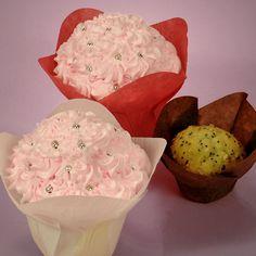 Lotus cupcake wrapper