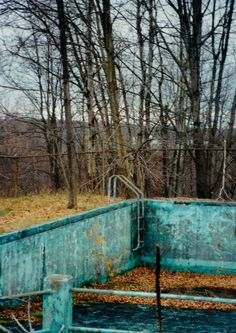 roadside pool, Catskills, NY