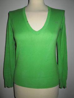 * * * SUN68 V-Pullover grün, Gr.S * * * | eBay