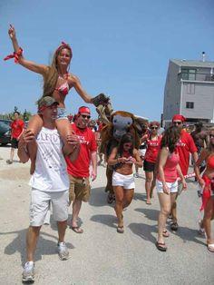 Dewey Beach Running Of The Bull This Summmmerrr Bulls On