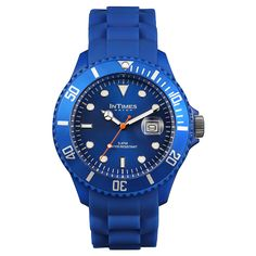 584a96674be1 silicone watches at  arthursjewelers  49 Mens Sport Watches, Watches For  Men, Dark Blue