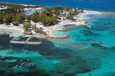 A nice aerial view of #CocoCay. It doesn't get any better than this in the #Caribbean! #travel