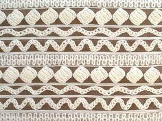 Crochet Stripe Brown